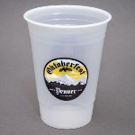 16 oz. Translucent Plastic Cup - High Run