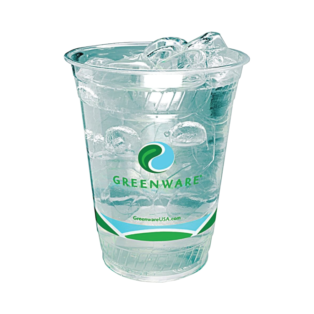 16 oz. Greenware Plastic Cup - High Run Thumbnail