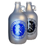64 oz. Matte Silver Growler Thumbnail