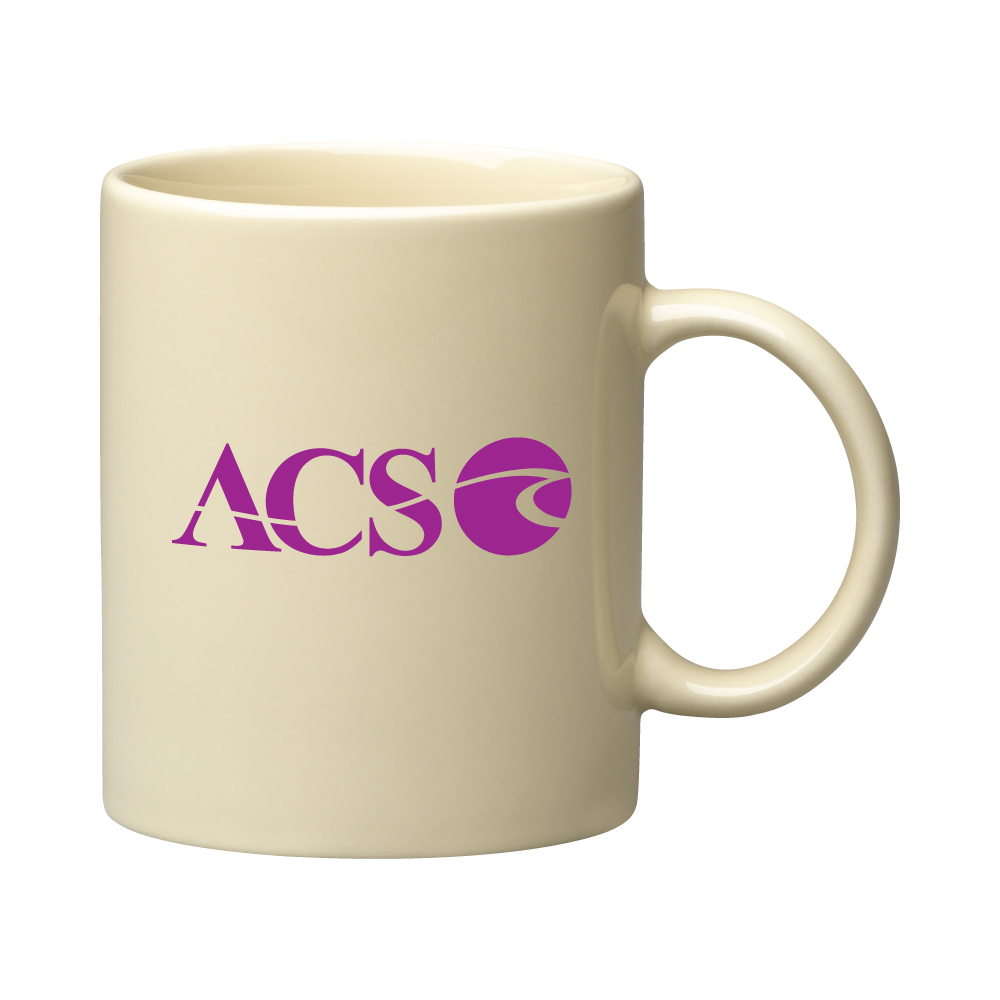 "11 oz. Almond ""C"" Handle Coffee Mug / M7168-07 Thumbnail"