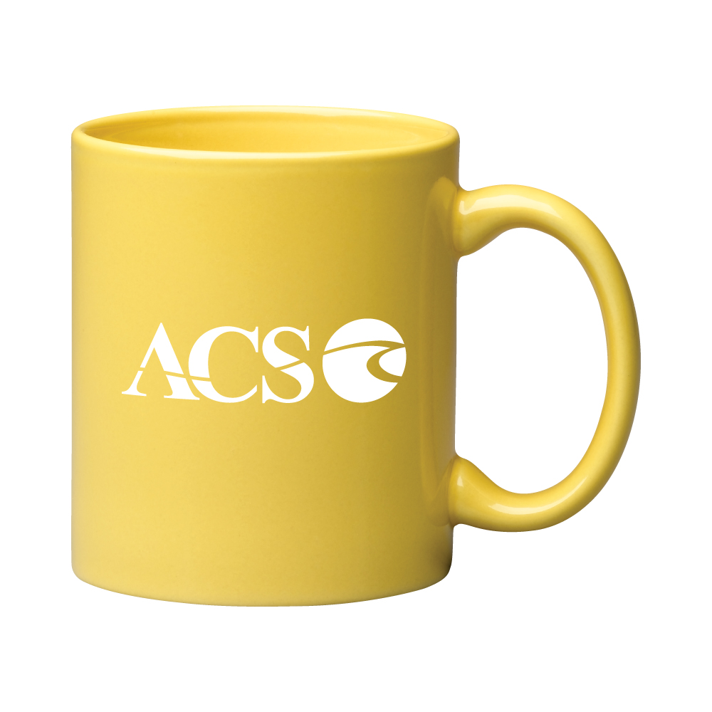 "11 oz. Yellow ""C"" Handle Coffee Mug / M7168-09 Thumbnail"