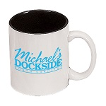"11 oz. White Out / Black In ""C"" Handle Mug / M7168-05/02 Thumbnail"