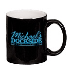 "11 oz. Black Out / White In ""C"" Handle Mug / M7168-02/05 Thumbnail"