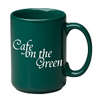 "15 oz. Green Jumbo ""C"" Handle Mug / M1015-11 Thumbnail"