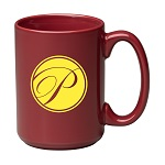 "15 oz. Maroon Jumbo ""C"" Handle Mug / M1015-43 Thumbnail"