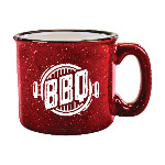 15 oz. Red Out White In Campfire Mug Thumbnail