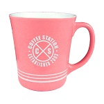 16 oz. Pink Out / White In with 3 White Bands Mug / M1985-02/26-02B Thumbnail