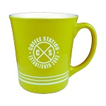 16 oz. Lime Green Out / White In with 3 White Bands Mug / M1985-02/839-02B Thumbnail