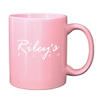 "11 oz. Pink ""C"" Handle Coffee Mug / M7168-26 Thumbnail"