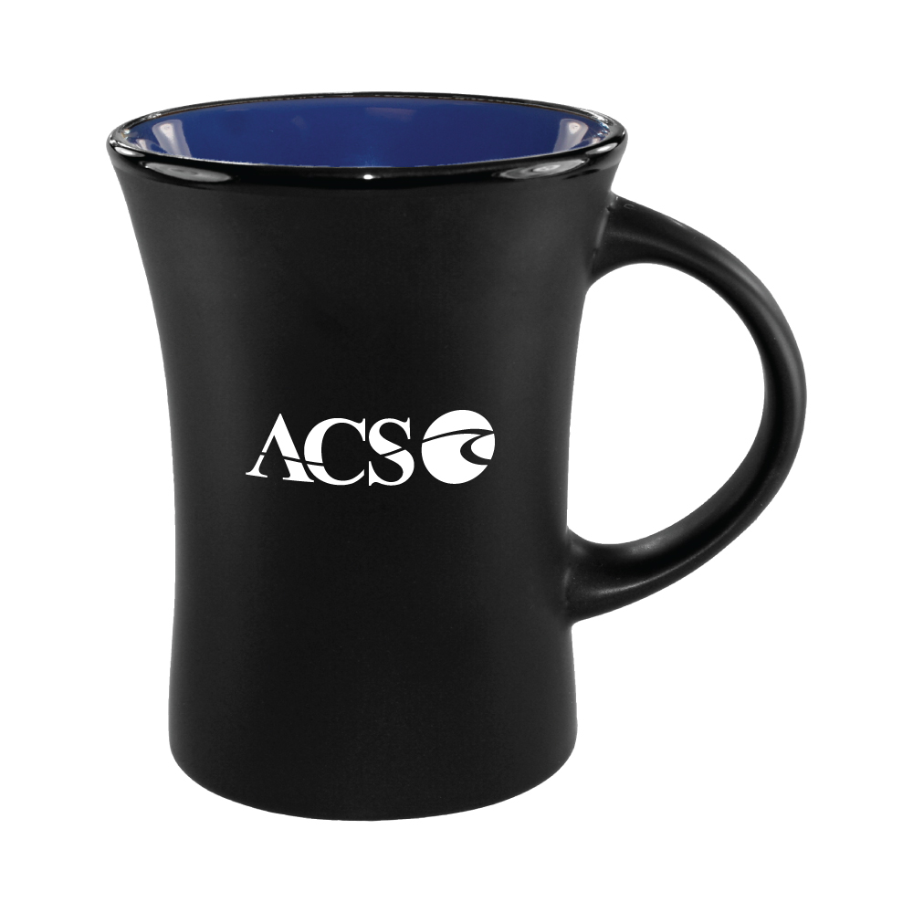 10 oz. Country Blue In / Matte Black Out Hilo Mug / M35702899 Thumbnail