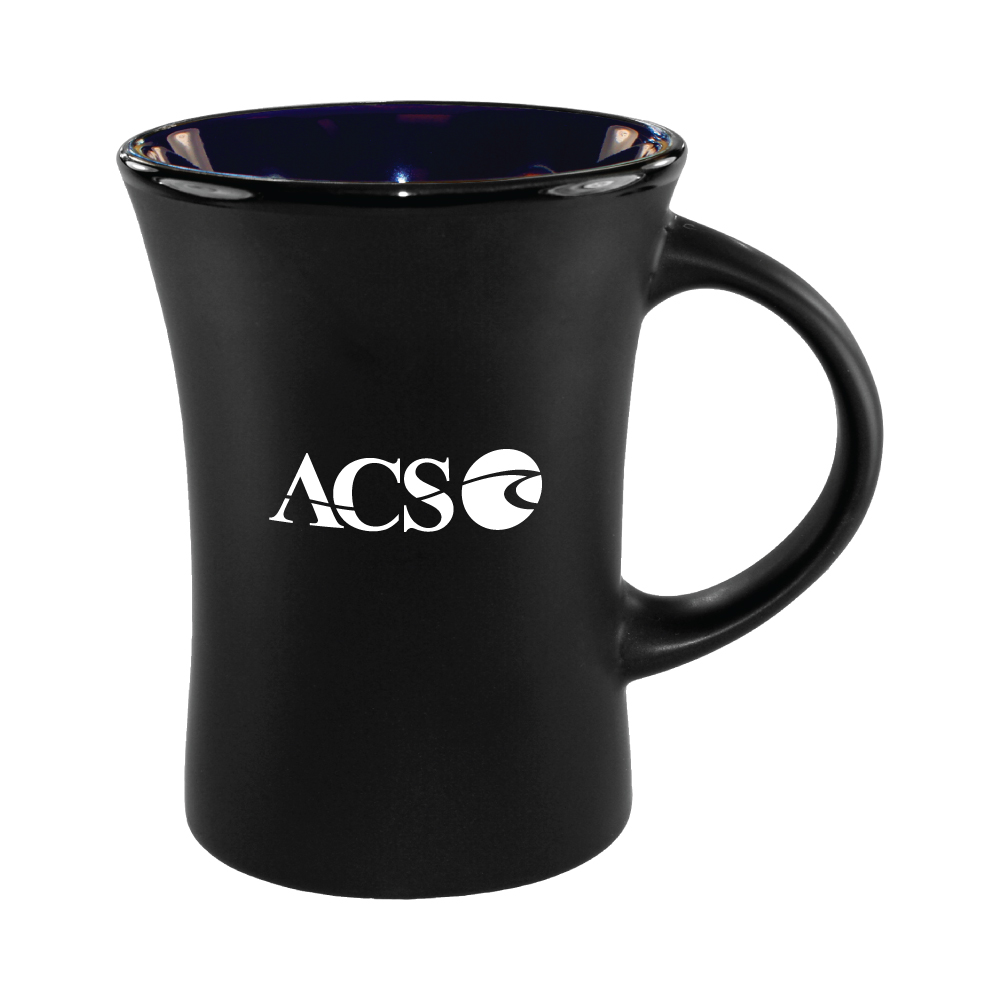 10 oz. Cobalt Blue In / Matte Black Out Hilo Mug / M35702901 Thumbnail