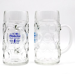 33.75 oz. (42 oz. Full Capacity) Oktoberfest Glass Mug / L12030021 Thumbnail