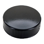 Black Phenolic Plastic Lids for 32 oz. Boston Rounds