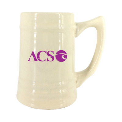 17 oz. Natural Ceramic Stein