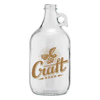64 oz. Clear Growler