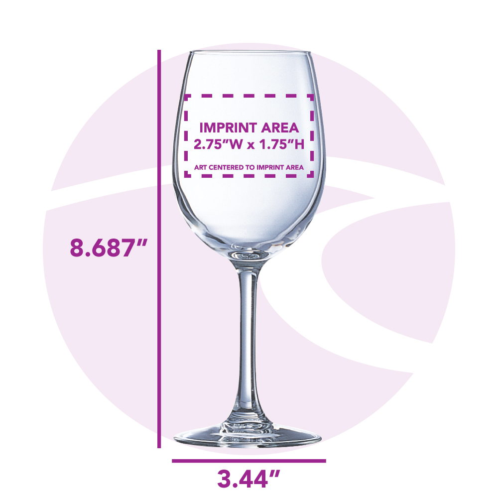 16.5 oz. Krysta Grand Vin Tulip Wine Glass / Arc L9364