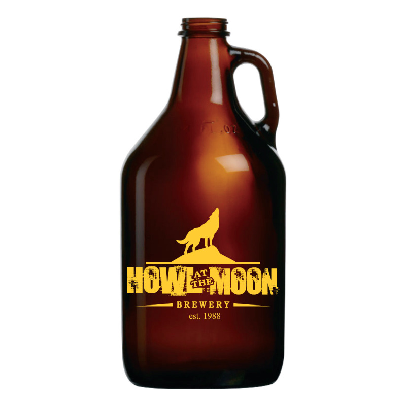 64 oz. Amber Growler