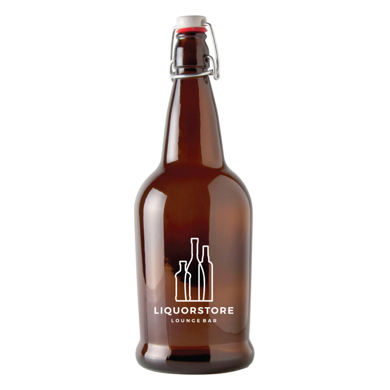 1 Litre Swing Top Growler w/Lid