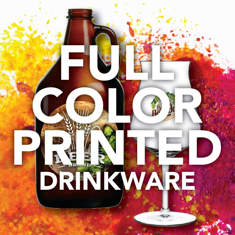 Full Color Printed Drinkware