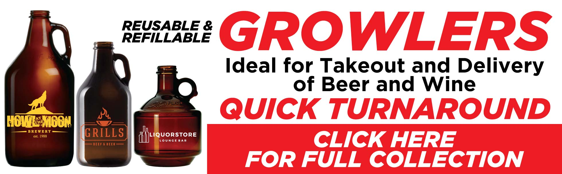Quick Turnaround on Growlers