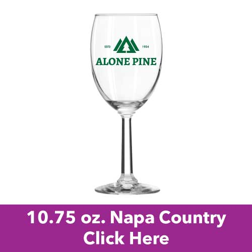 Low Price and Quick Turnaround 10.75 oz. Napa Country Wine Glasses
