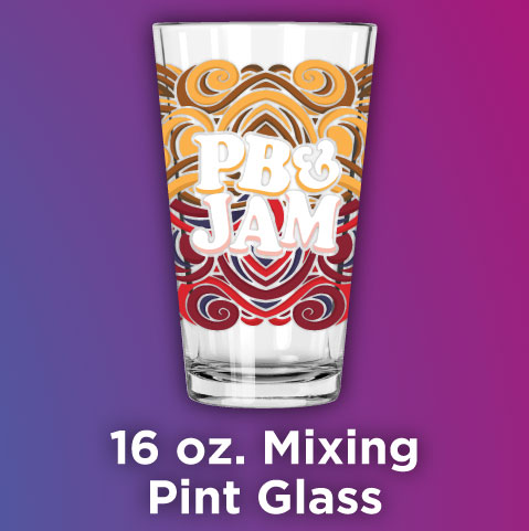 Full Color Printed 16 oz. Mixing Glass