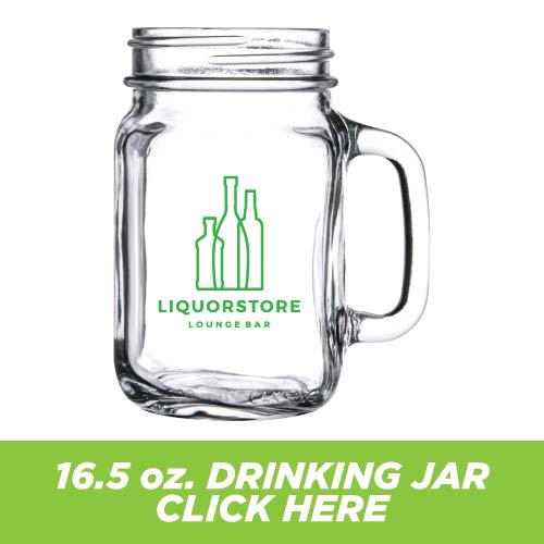 Low Price and Quick Turnaround 16.5 oz. Handled Drinking Jar