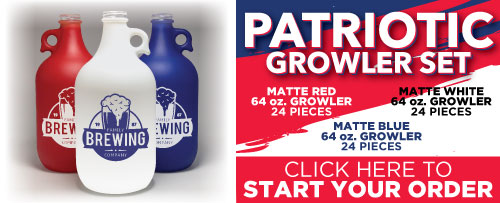 Patriotic Growler Set
